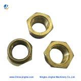 Custom CNC usinage de pièces de cuivre de précision pour pompe