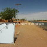 Angeschaltenes helles Solarstraßenlaternesolar installiert in Somalia