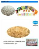 Stroh-Zubehör-anhaftender heißer Schmelzkleber für Getränk-Kasten