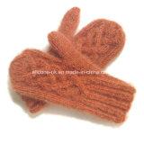 Трикотажные лыжные перчатки, трикотаж Mittens ручной работы, ручной вязки перчатки