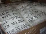 白い粉の化学製品のシュウ酸