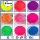Colorants au néon fluorescents de poudre, constructeur fluorescent cosmétique de colorant