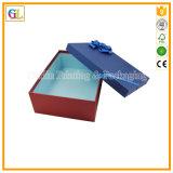 Logotipo estampado personalizado Caja de regalo de cartón rígido con tapa