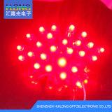 talons simples de lampe de chaîne de caractères de lampe d'exposition de la couleur DEL de 12mm annonçant la lampe