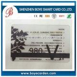 Cartão transparente da listra magnética para o escritor do leitor de cartão da listra magnética
