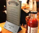 2016 جديدة تصميم متحرّكة مطعم [روهس] قائمة الطعام قوة بنك [20000مه] مطعم قائمة الطعام قوة بنك مع [لد] [بكليغت]