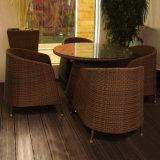 Mobiliário de Jardim Pátio lazer Bistro de vime Sala cadeiras lounge de vime Sofá Definido