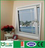 Алюминиевое окно наклона и поворота обеспеченностью