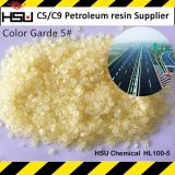 Resina del hidrocarburo C5 para la línea termoplástica reflexiva pintura del camino de la marca