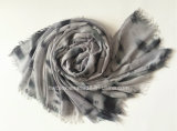 2017 Grey Tie Dyed Lady Fashion Modal Stole / Scarf (HWBPS98)