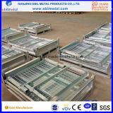 Pálete de caixa Foldable de aço galvanizada do fio (EBILMETAL-WBP)