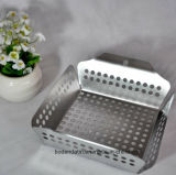Kundenspezifisches Silber BBQ-Tellersegment, BBQ-Platte mit Nahrungsmittelgrad
