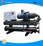 Enfriadores de tornillo refrigerado por agua industrial Alimentación Sistema de refrigeración