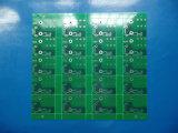 El doble echó a un lado tarjeta del oro de la inmersión de la fabricación del PWB en el panel