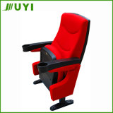 Plastikauditoriums-Stühle der Konferenz-Jy-616 mit Becherhalter-Kino-Lagerung
