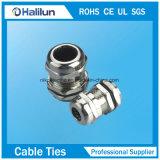 Glándula de cable impermeable del metal de la buena calidad