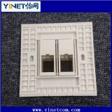 CAT6 Double RJ45 Wall Face Plate / Faceplate Network LAN