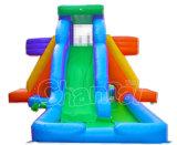 子供(CHSL272-1)のための屋外の良質膨脹可能な水二重スライド