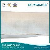 bolso de filtro tejido 350g-750g del polvo de la fibra de vidrio con la capa de PTFE