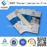 Пленка слоения BOPP термо- с клеем ЕВА