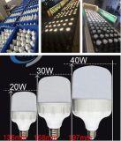 Свет шарика 30W 40W 50W Bc СИД алюминия Es