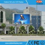 Visualización publicitaria a todo color al aire libre LED de HD P16 para el borde de la carretera