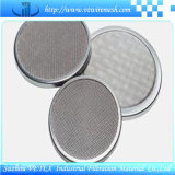 Disco de Desgastar-Resistencia del filtro del SUS 304