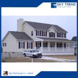 Bien diseñado casa prefabricada de lujo con decoración