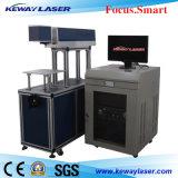Máquina de la marca del laser del CO2 para el papel de cuero plástico de madera no-metálico