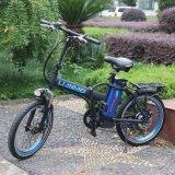 "20"" nova bicicleta eléctrica 250W Preto/Branco/BLE 2016 Ciclomotor eléctrico"