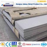 ASTM AISI 201 202 2b Plaque en acier inoxydable avec SGS Inspection de tiers