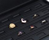 Кожаный коробка ювелирных изделий с PU для хранения и индикации
