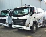 8-12 de vrachtwagen van de m3 concrete mixer, HOWO de vrachtwagen van de cementmixer