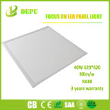 620620 LED Panel Light 40W 90lm/W met TUV, Ce