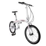 Tdjdc 전기 자전거 싼 K 바위 작은 바퀴 접히는 자전거를 접히는 16/의 20 인치 쇠사슬 접히는 자전거