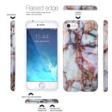 Marble Design Slim Shock-Proof Smooth TPU Soft Case, capa de pele de borracha para Apple iPhone 7