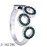 Sterlingsilberzirconia-Frauen-Ring der Einfachheits-925 (S-10186)