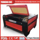 Materiais não metálicos automáticos CO2 Glass Tube Laser Cut Desk