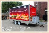 Ys-Fv390h 이동할 수 있는 부엌 트레일러 Kebab 밴