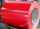 Bobina de aço Prepainted da cor da chapa de aço/Galvalume de Aluzinc