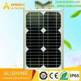 Todos en una luz de calle solar con el certificado del Ce IP65 RoHS