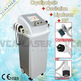 La cavitation+Cryolipolysis+Lipolaser+Gras RF dépose Slimming Machine (VS-300C) la liposuccion de la beauté de la machine