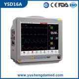 Multi-Parameter 12 дюймов высокого качества монитор Ysd16A медицинского портативный терпеливейший
