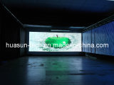 Flexible Tranparent LED cortina Display P20