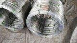 Elevado Limite Elástico oval de fio de aço galvanizado