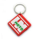 Цена дешевых PVC и металла Keychain/нержавеющего Keychain/закручивая Keychain