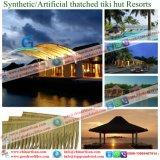 La chaume synthétique de paille africaine et voudrait rendre technique et ignifuge pour la ressource 67 de toit
