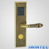 Fechamento de porta eletrônico de bronze do hotel da alta qualidade (V62013C-RF)