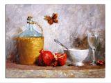 Still Life Oil Painting (SL--FR1679879)