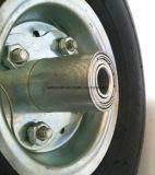 Roda de borracha pneumática do Wheelbarrow do caminhão de mão 3.50-4 para carros